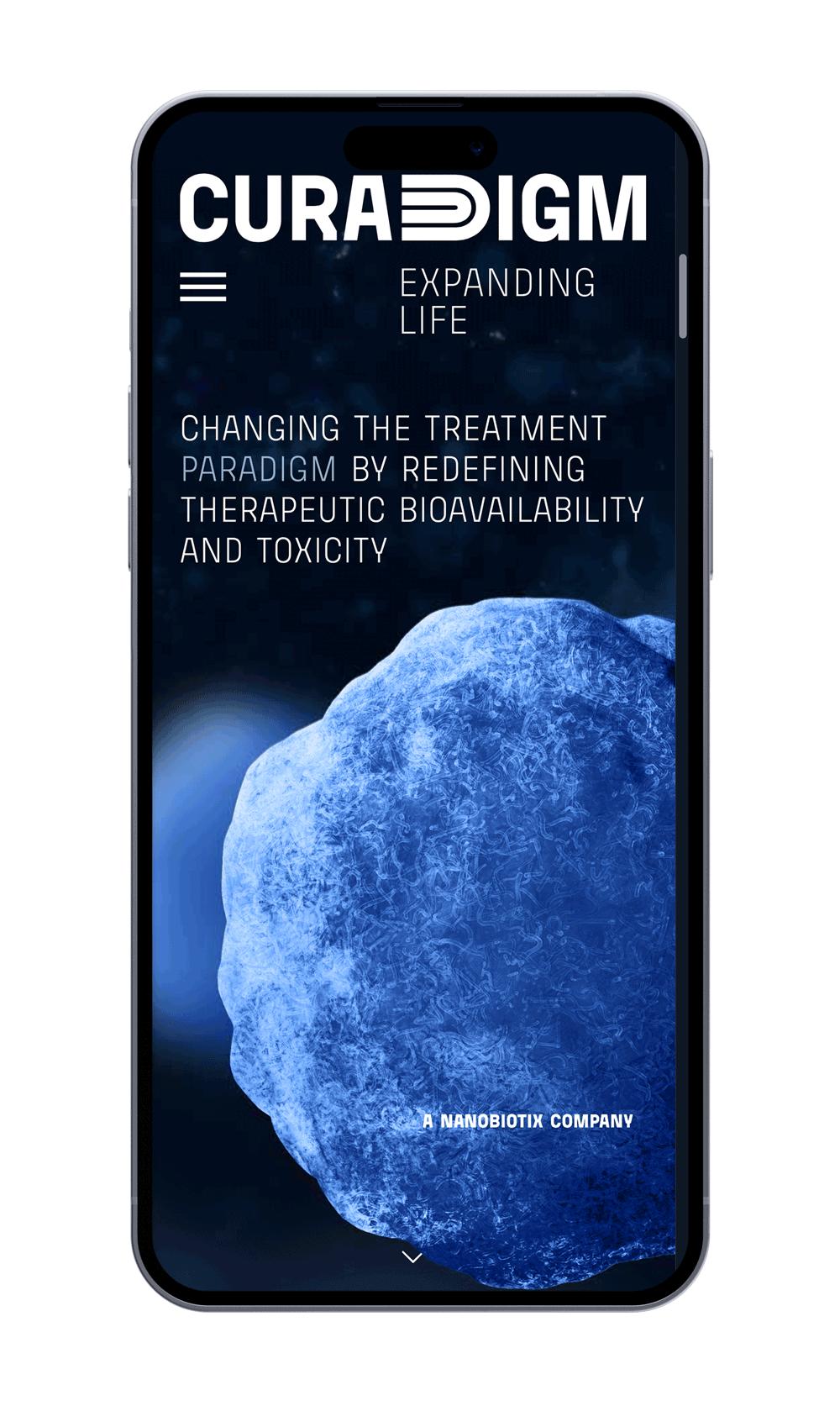 Curadigm Mobile App